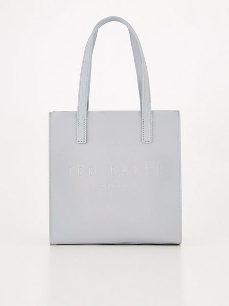 ted-baker-crosshatch-small-icon-bag-grey