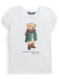 ralph-lauren-girls-short-sleeve-bear-print-t-shirt-white