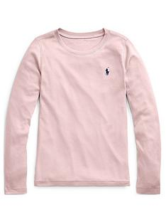 ralph-lauren-girls-classic-long-sleeve-t-shirt-powder-pink