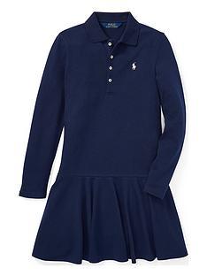 ralph-lauren-girls-classic-long-sleeve-polo-dress-navy