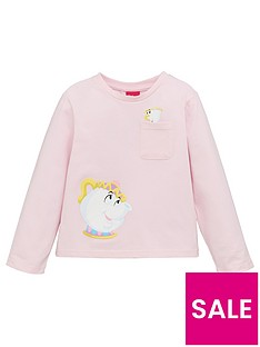 disney-beauty-and-the-beast-girlsnbspmrs-potts-pocket-detail-t-shirt-pink