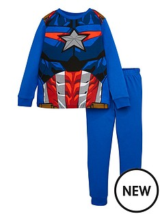 marvel-boys-marvelnbspnovelty-long-sleeve-pjs-blue