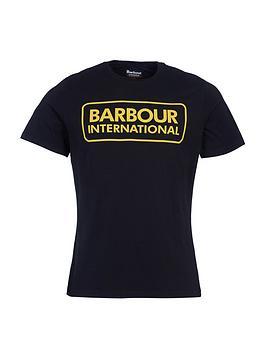 barbour-international-essential-large-logo-t-shirt-black