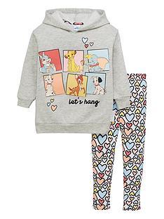 disney-girlsnbspclassic-animals-2-piece-hoodie-and-legging-set-grey
