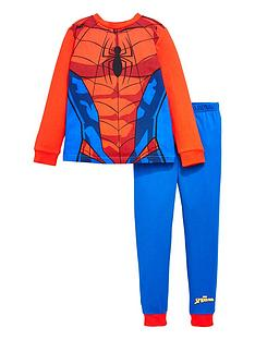 spiderman-boysnbspnovelty-long-sleeve-pyjamas-red