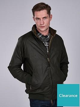 barbour-international-westway-wax-jacket-green