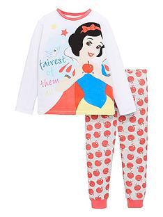 disney-princess-girlsnbsplong-sleeve-pyjamas-white