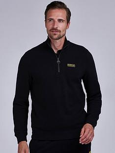 barbour-international-half-zip-logo-sweatshirt-black