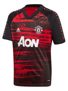 adidas-youth-manchester-united-2021-pre-match-t-shirt-red