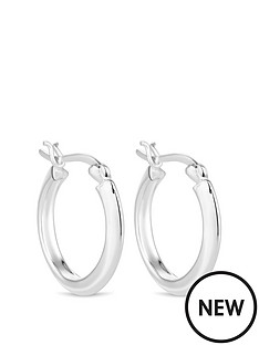 simply-silver-sterling-silver-thick-hoop-earrings