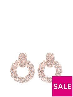 mood-rose-gold-plated-pink-pave-door-knocker-earrings