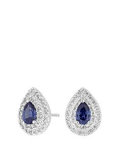 simply-silver-sterling-silver-cubic-zirconia-double-halo-blue-pear-earrings
