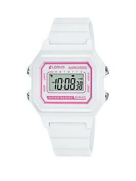 lorus-lorus-white-and-pink-detail-digital-dial-white-silicone-strap-watch