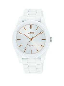 lorus-lorus-white-sunray-and-rose-gold-detail-dial-white-silicone-strap-ladies-watch