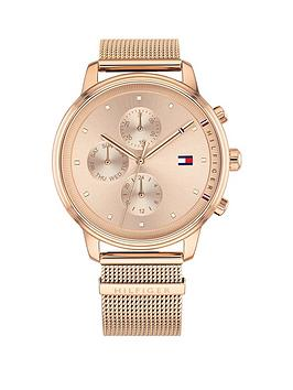 tommy-hilfiger-tommy-hilfiger-rose-chronograph-dial-rose-tone-mesh-watch
