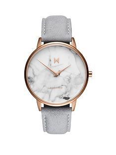 mvmt-mvmt-boulevard-marble-effect-dial-grey-strap-watch