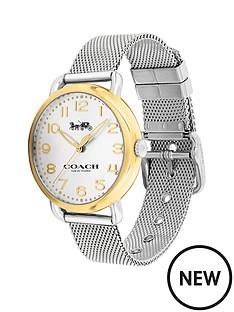 coach-coach-delancey-white-dial-gold-tone-bezel-silver-mesh-bracelet-watch