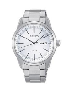 seiko-seiko-silver-and-blue-detail-daydate-dial-silver-stainless-steel-bracelet-mens-watch