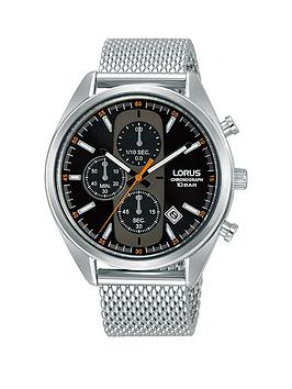 lorus-lorus-black-chronograph-dial-stainless-steel-mesh-strap-mens-watch