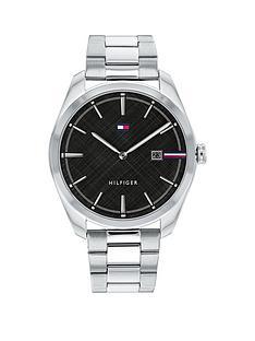 tommy-hilfiger-tommy-hilifger-black-dial-stainless-steel-bracelet-watch
