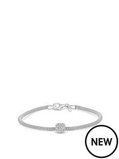 simply-silver-sterling-silver-popcorn-cubic-zirconia-square-pave-charm-bracelet
