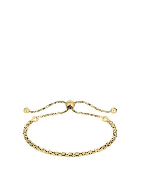 simply-silver-14ct-gold-plated-sterling-silver-twist-toggle-bracelet