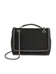 accessorize-chain-detail-georgia-bag-black