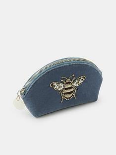 accessorize-bee-embellished-coin-purse-blue