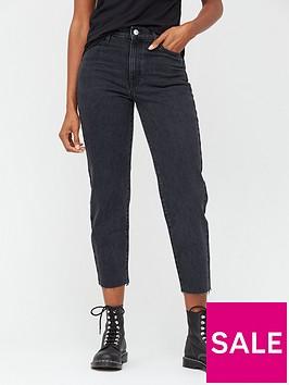 v-by-very-high-waist-straight-leg-jeans--nbspblack-wash