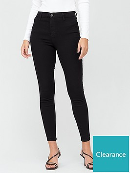 v-by-very-34-premium-super-high-waist-jeggings-black
