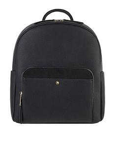 accessorize-nikki-dome-backpack-black