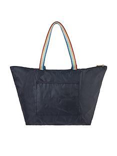 accessorize-rainbow-packable-shopper-bag-navy