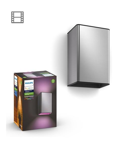 philips-resonate-hue-white-and-colour-ambience-wall-lantern-inox-2x8