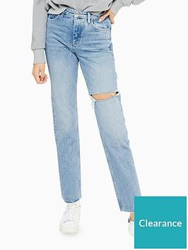 topshop-slim-leg-jeans-blue