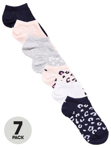 v-by-very-girls-7-pack-animal-liner-socks-multi