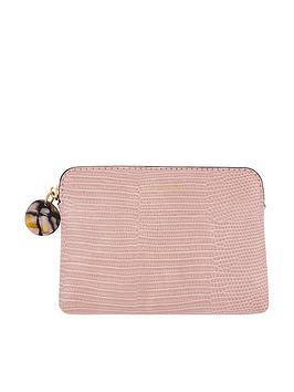 accessorize-reptile-ampnbspresin-coin-purse-pink