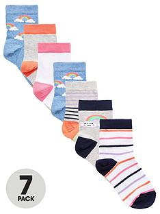v-by-very-girls-7-pack-rainbow-socks-muti
