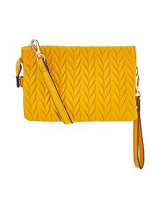 accessorize-paige-pleated-xbody-yellow