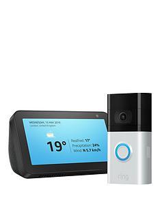 ring-video-doorbell-3-amazon-echo-show-5-black