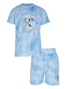 river-island-boys-tie-dye-t-shirt-and-short-set--nbspblue