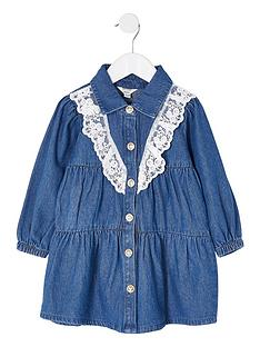 river-island-mini-girls-denim-lace-smock-dressnbsp--blue