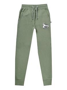 money-boys-chrome-ape-joggers-green