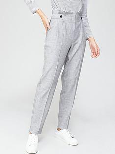 v-by-very-paperbag-tapered-leg-trouser-greynbsp