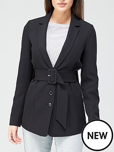 v-by-very-belted-tailored-jacket-blacknbsp
