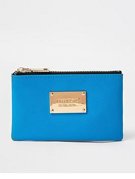 river-island-faux-croc-mini-coin-purse-blue