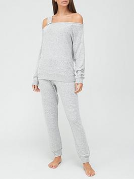 v-by-very-off-the-shoulder-lounge-set-grey-marl