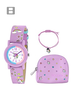 fossil-tikkers-unicorn-dial-lilac-glitter-strap-kids-watch-bracelet-amp-bag-gift-set