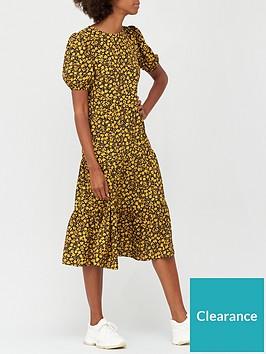 v-by-very-tiered-printed-midi-dress-floral-print