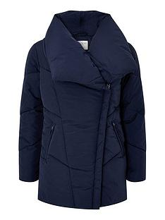 monsoon-dhalia-sustainable-short-padded-coat-navy