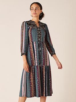 monsoon-geo-print-sustainable-midi-dress